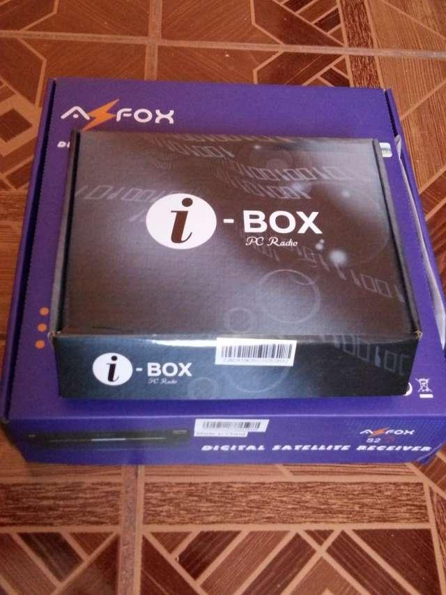 Receptor satelital + i-caja, para fta.