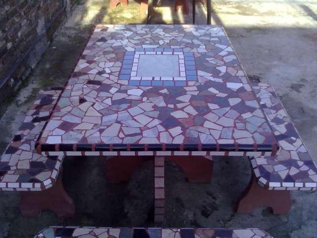 Juegos de jardin de cemento revestidos! en San Francisco - Muebles ...