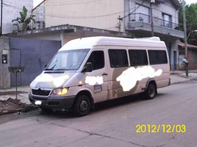 Sprinter 413 minibus 19+1 2007 excelente