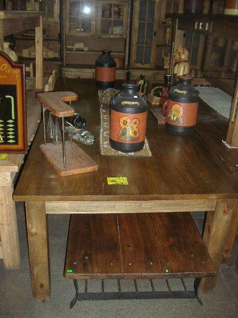 Mesas grandes para quinchos y galerias