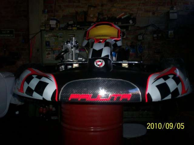 Vendo karting fc motor 4 tiempos 5 velocidades