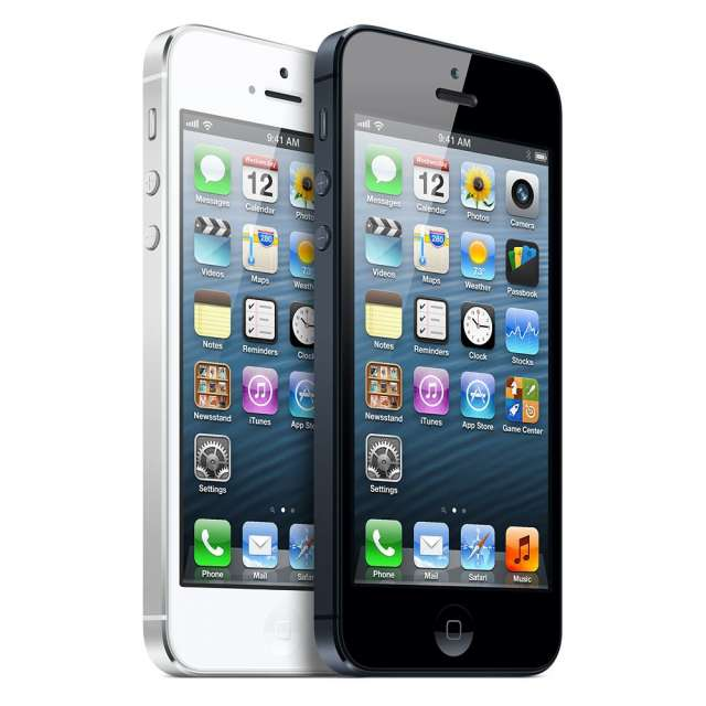 En venta apple iphone 5 64gb y blackberry bold 5 9900 blanco y negro