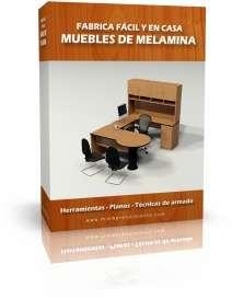 Aprende a fabricar y vender fácil y desde casa los muebles de melamina