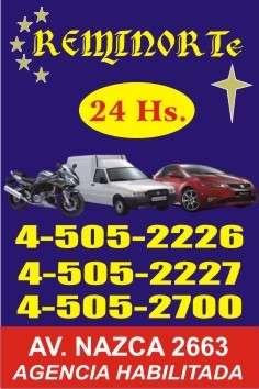 Remises las 24 horas 45052700/2226/2227