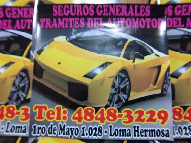 Tramites del automotor y seguros generales
