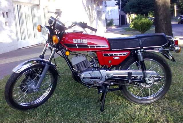 Sport moto: yamaha rx 125 1980 japonesa unica impecable