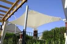 Toldos velas velas ibisencas estilo chill out para terrazas,garages,jardines