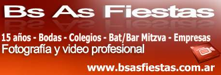 Bs as fiestas - fotografia y video profesional. www.bsasfiestas.com.ar
