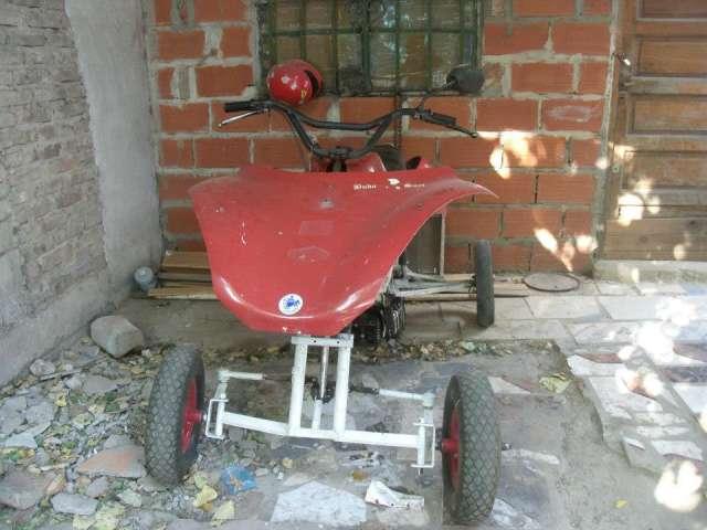 Vendo cuatriciclo fabricacion casera motos zanella