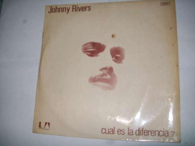 Disco vinilo long play jonny rivers : ¿cual es la diferencia? nuevo