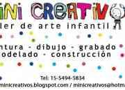 TALLER DE ARTE INFANTIL - MINI CREATIVOS - QUILMES