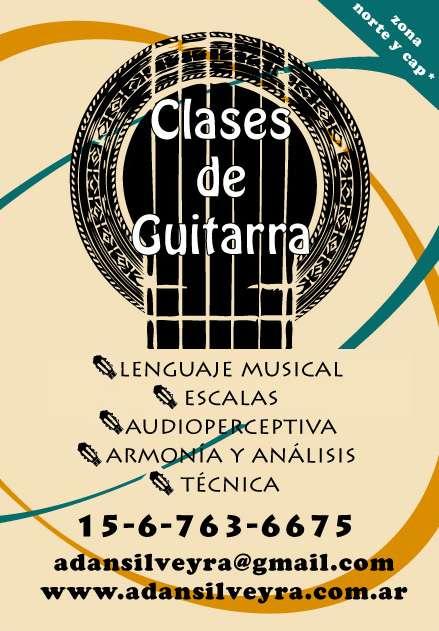 Fotos de Clases de guitarra y teoría musical en belgrano-nuñez y alrededores 1