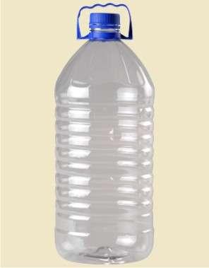 Envases descartables pet para agua mineral