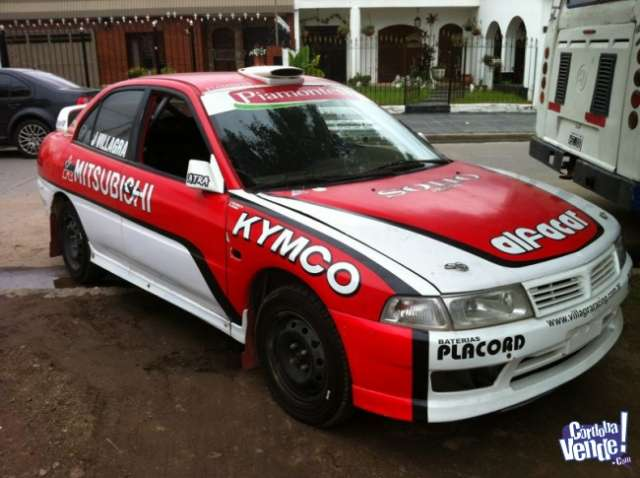 Rally auto mitsubishi lancer ex villagra
