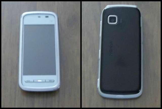 Vendo celular nokia 5230 claro con caja