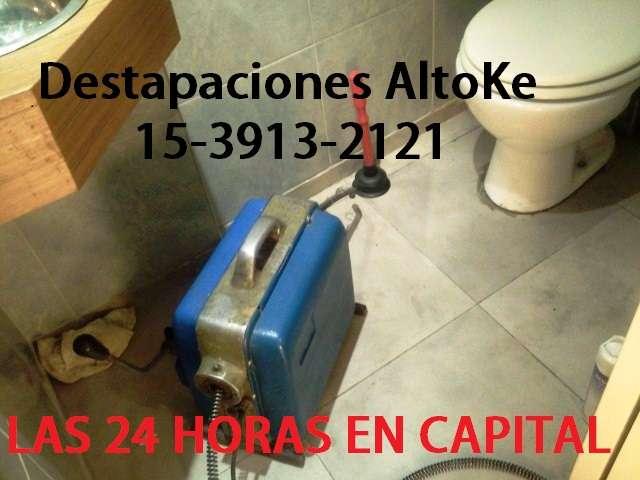 Destapaciones en villa urquiza 15-2213-1001 urgencias - capital federal