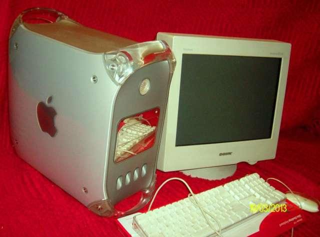 Vendo computadora power mac g4 (apple)