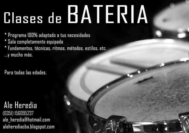 Clases de batería en córdoba - argentina
