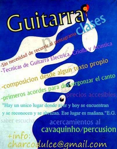 Guitarra/cavaquinho clases en y a domicilio