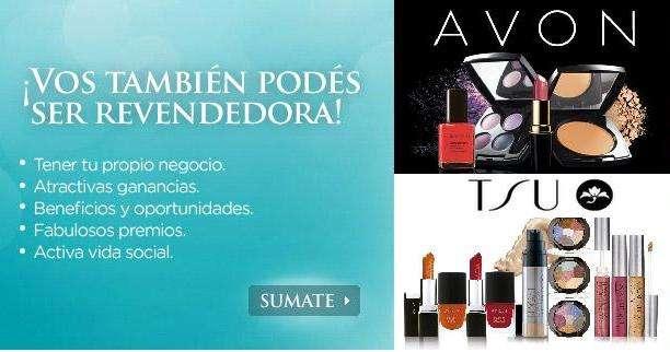Queres ser revendedora o comprar productos de avon y/o tsu cosmeticos??