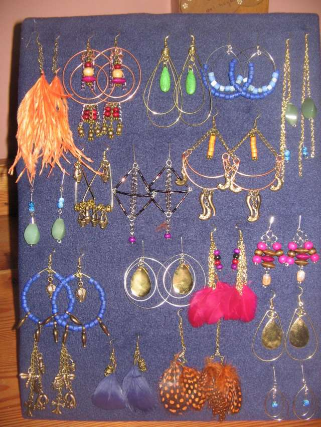 3a02c3f92303 Doy accesorios totalmente artesanales en consignacion aros