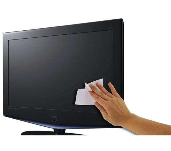 ¿cómo limpiar una pantalla led, plasma o lcd?