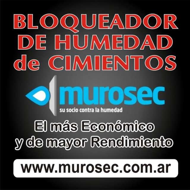 Murosec - bloqueador de humedad de cimientos - 10 litros
