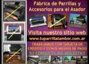 Fabrica de Parrillas Tambor / Chulengos y Accesorios para el Asador