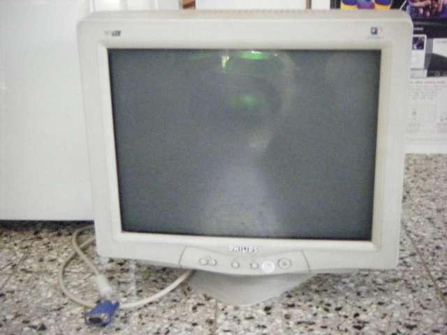 """Vendo monitor philips 17"""" modelo 107 t5"""
