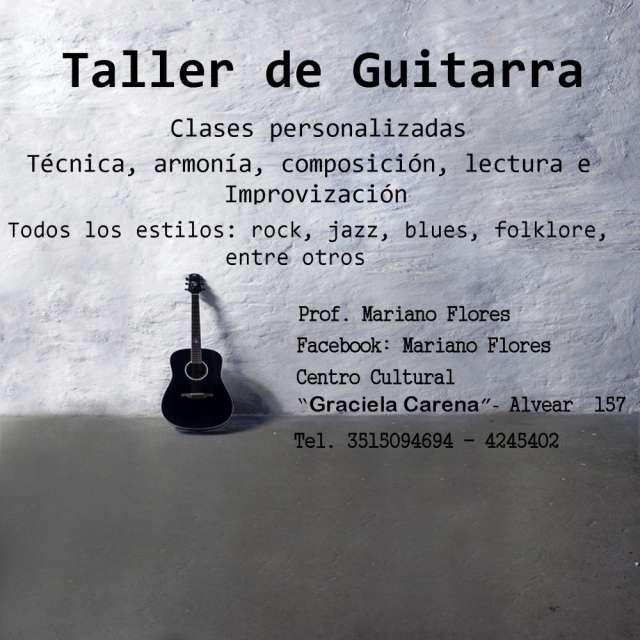 Clases de canto - guitarra.........