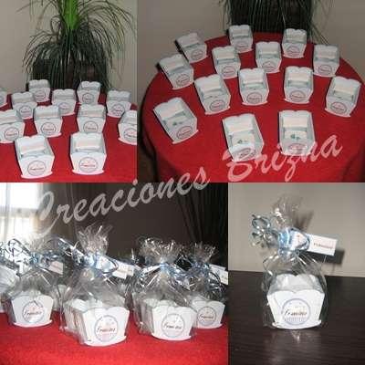 Cunitas souvenir nacimiento baby shower
