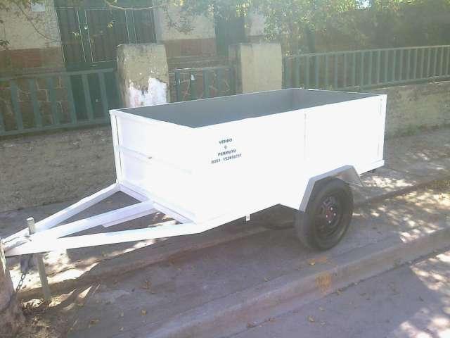 Vendo trailer batán, a estrenar, reforzado, capacidad de carga: 1000kg. chapa del 18.