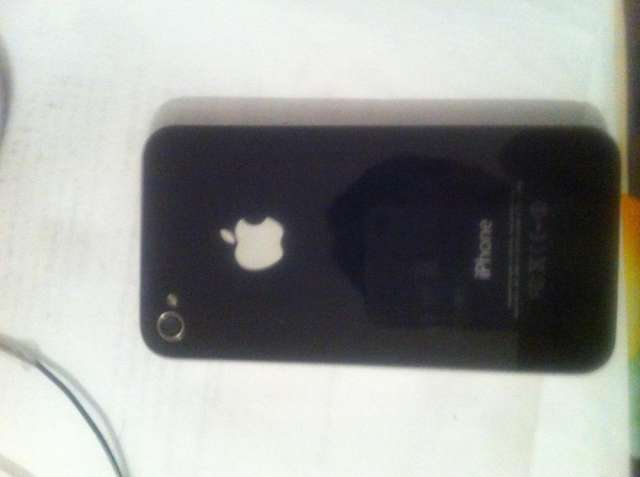 Vendo mi celular iphone 4 color blanco en buen estado