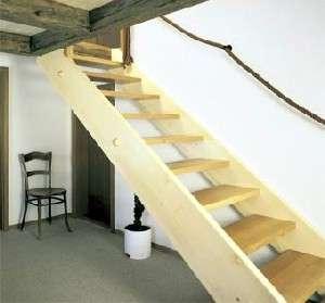 Como hacer escalera de madera ideas de disenos for Como construir una escalera de hierro y madera