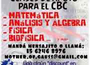 Matemática para el cbc y universidad