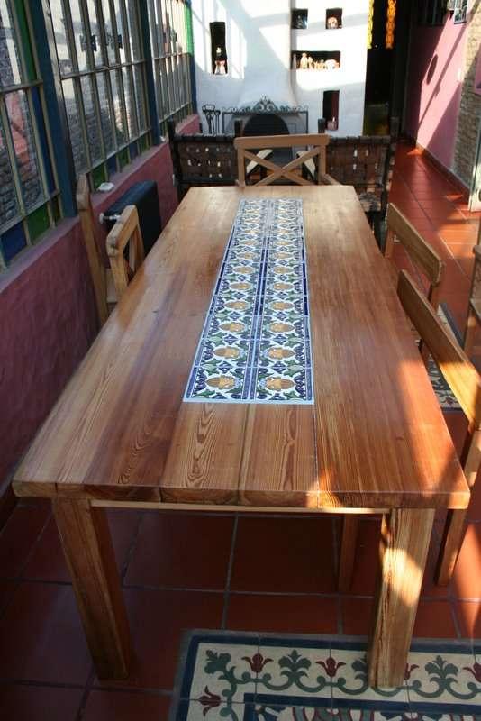 Mesas de pinotea a medida de comedor