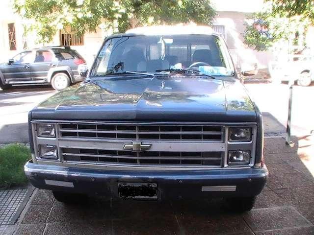 Vendo camioneta chevrolet silverado 1988