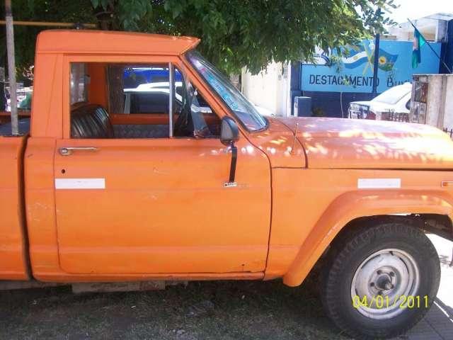Vendo O Permuto Camioa Jeep Gladiator En Banfield Camioas