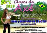 Clases de Axé (ritmos brasileros) Lambaerobica 2013