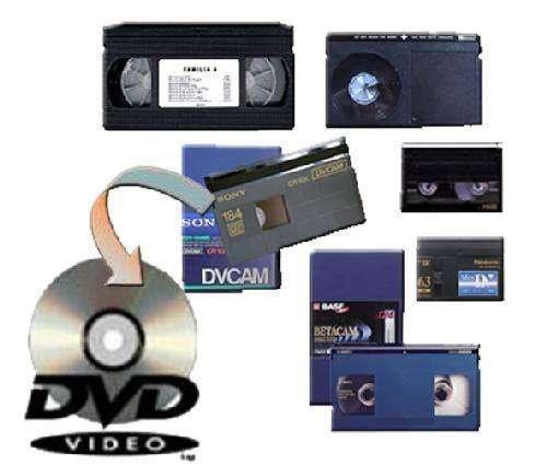 Digitalizacion de vhs a dvd, precios y calidad