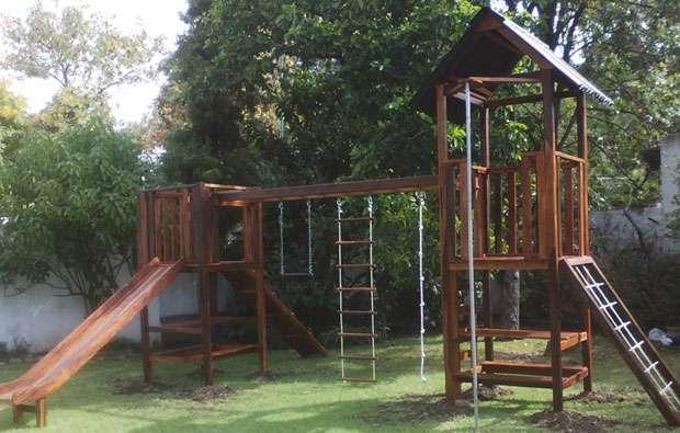 Awesome Juegos De Jardin Para Nios De Madera Ideas - Amazing Design ...