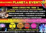 ANIMACIONES CON MINIDISCO Y KARAOKE  PRE-TEEN´S  www.planetaeventos.pusku.com/