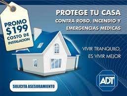 Alarmas monitoreadas adt ,su casa protegida las 24 hs