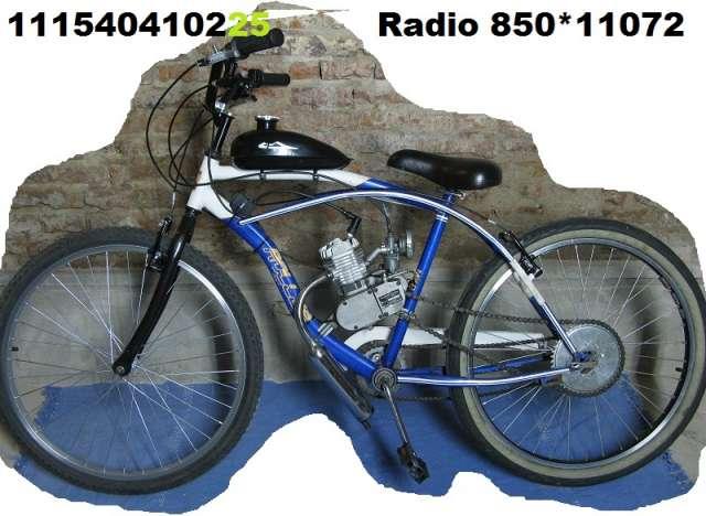 Bicimoto 48cc bicicleta a motor lista para usar