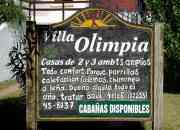 Cabañas de categoría en Villa Gesell - Villa Olimpia