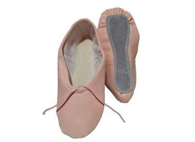 Dano zapatillas media puntas para danza
