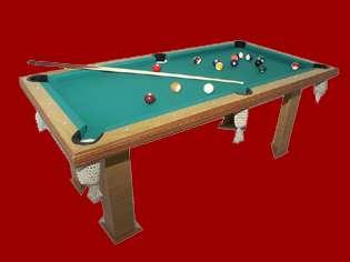 Alquiler de mesas de pool, ping pong, tejos, plazas blandas en longchamps.