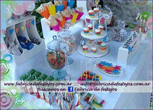 Candy buffet, golosina personalizadas, cupcakes, cookies, minitortas, y mucho más...