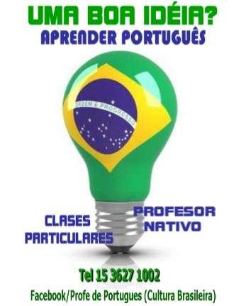 Aprendé y practicá portugués - profesor nativo