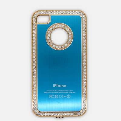 2013 caja linda, diseño de moda, caso de aluminio, para iphone4/4s, caso de aluminio del teléfono